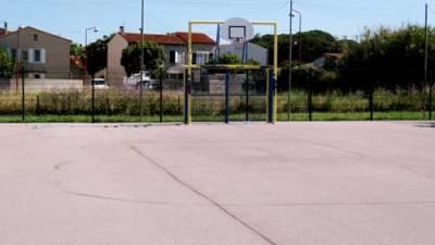 terrain de basket Vinassan