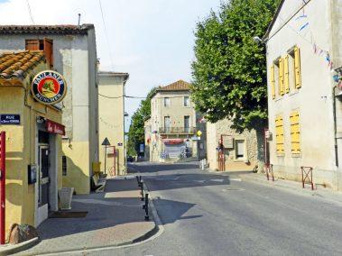 rue principale de Vinassan