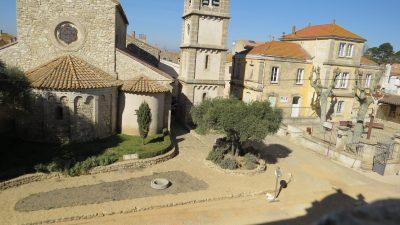 église et parc de vinassan