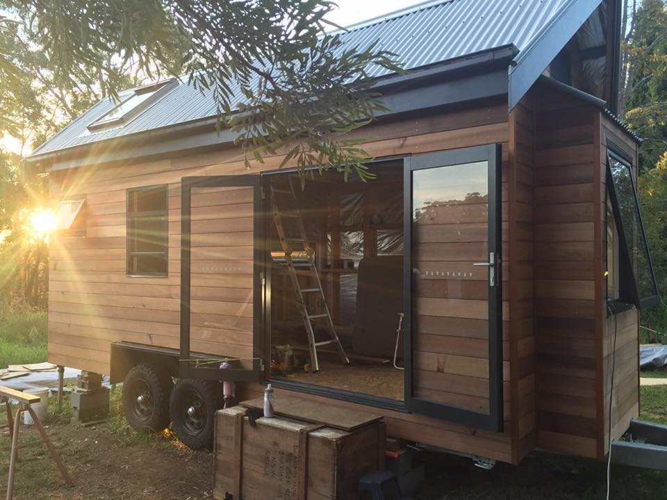 Kristen's Tiny House in Australia
