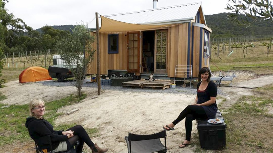 Stuart's Tiny House in Australia