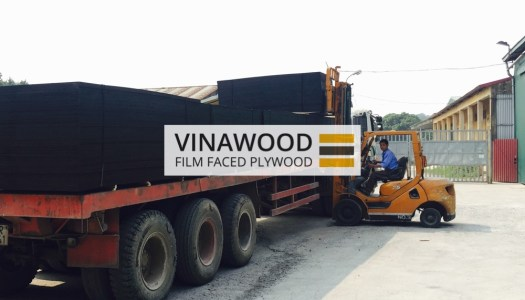 VINAWOOF FILM FACED PLYWOOD LOADING