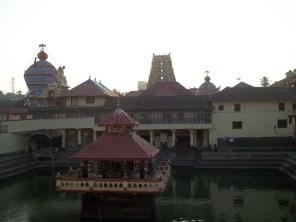 View of Shri Krishna Matha
