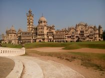 Lakshmi Vilas Palace - View from the Sunken Gardens