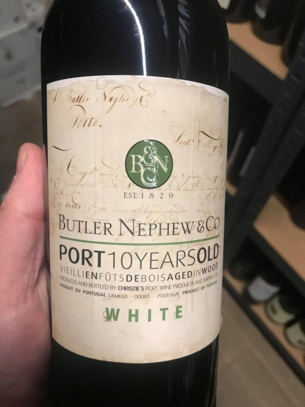 Butler Nephew & Co. 10 Years Old White
