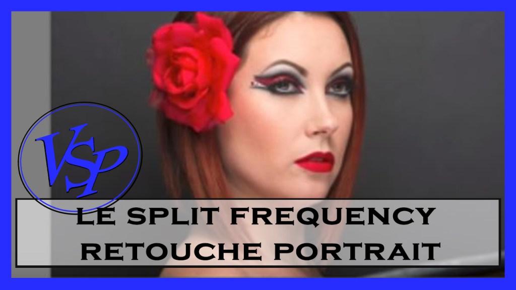 Split frequency pour une retouche portrait photoshop