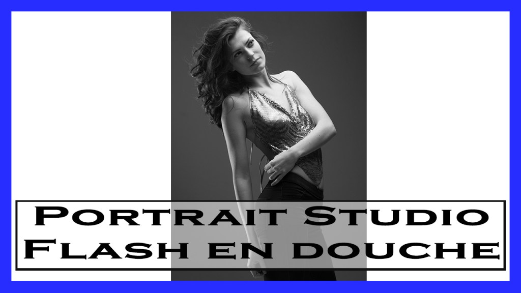 Realiser Un Portrait Studio Flash En Douche Photo En Douceur-prise de vue photo