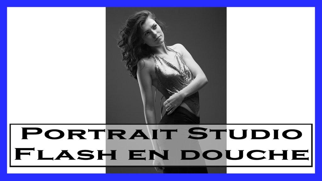 Realiser Un Portrait Studio Flash En Douche Photo En Douceur-prise de vue photo