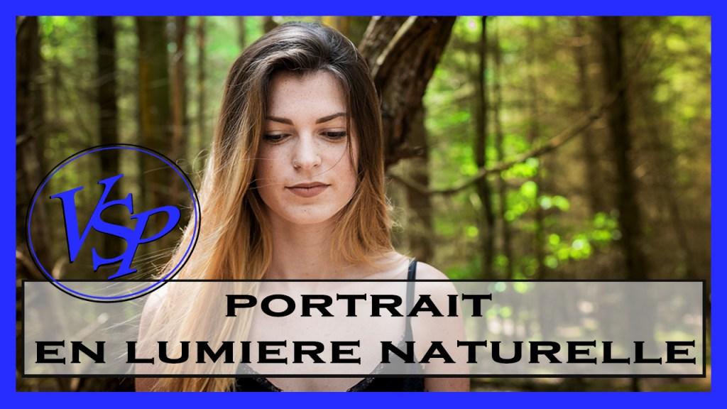 photo portrait en lumiere naturelle