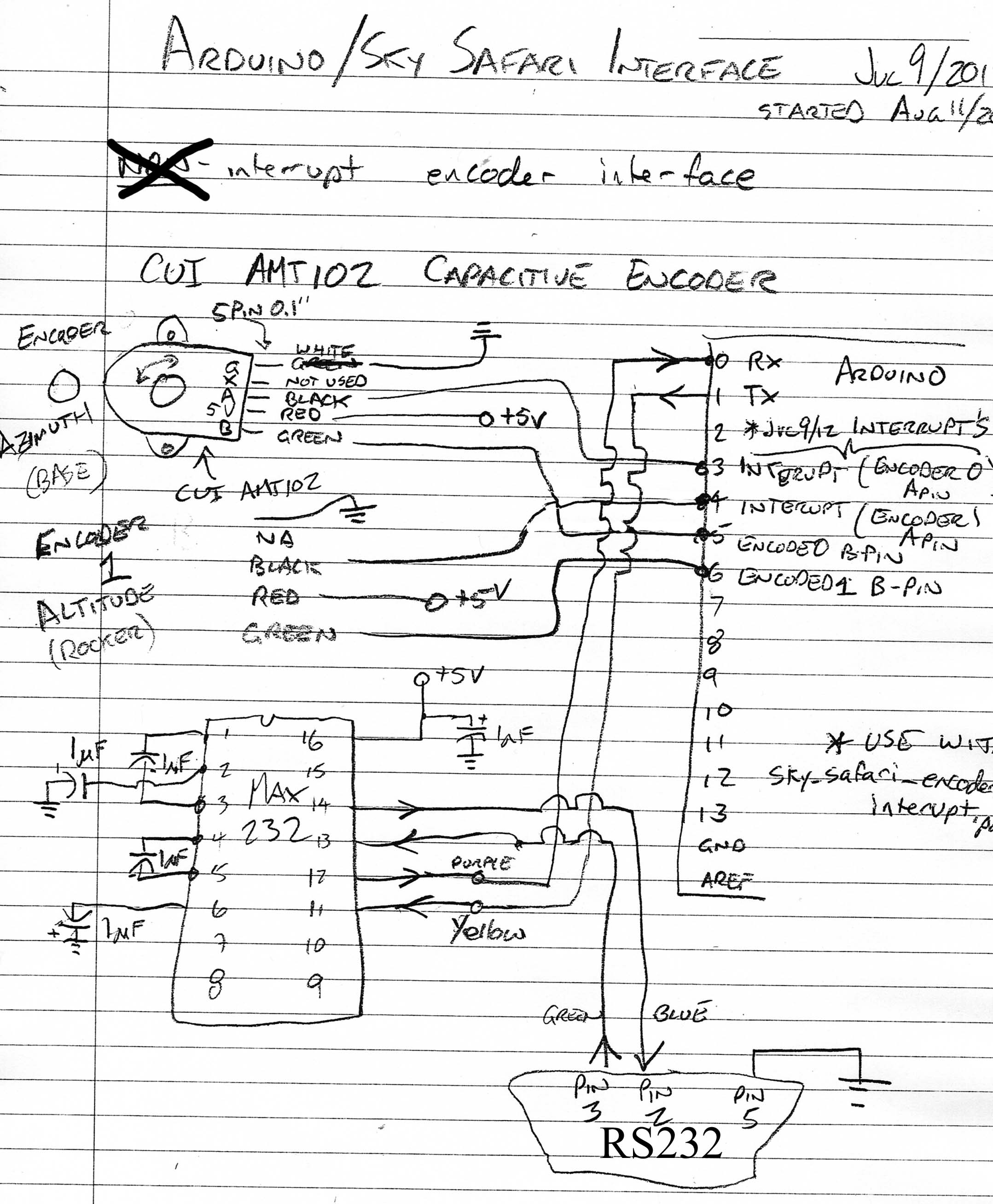 Max232 Rs232 To Ttl Converter Schematic Pin Diagram