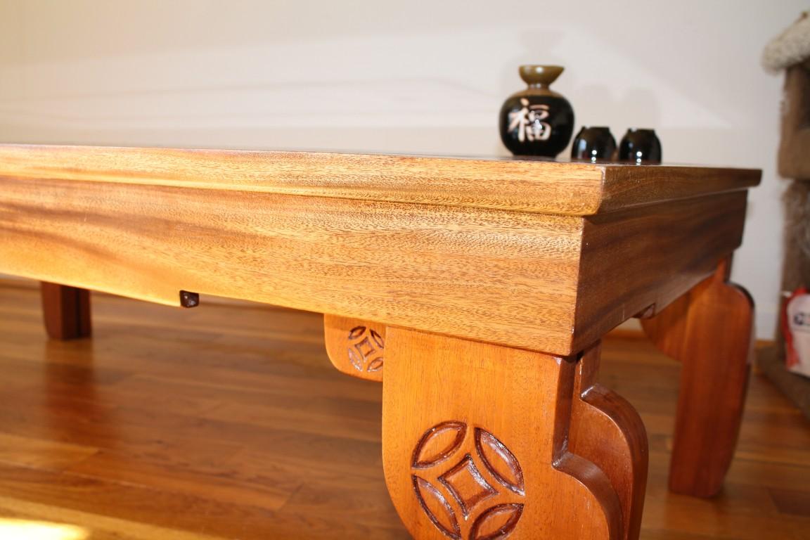 Polished mahogany