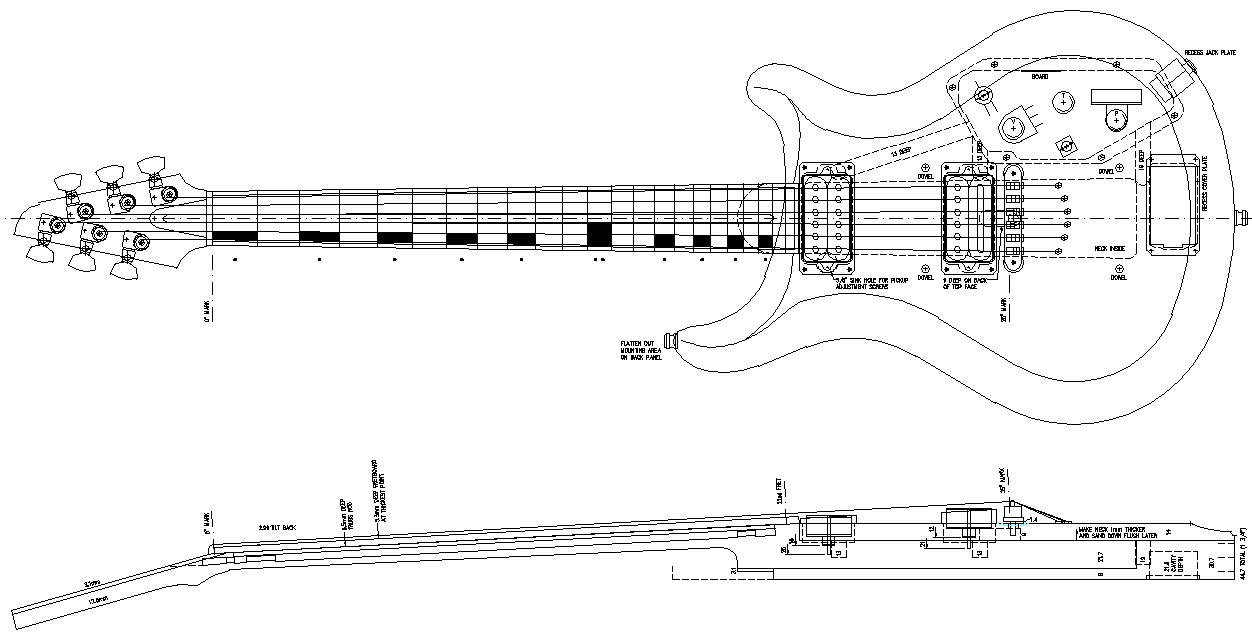 Build Electric Guitar Diagram Plan Electricguitardiagram