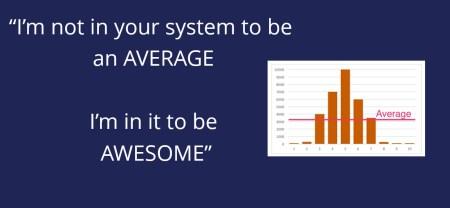 awesome not average