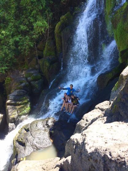 We found the Hidden Falls!