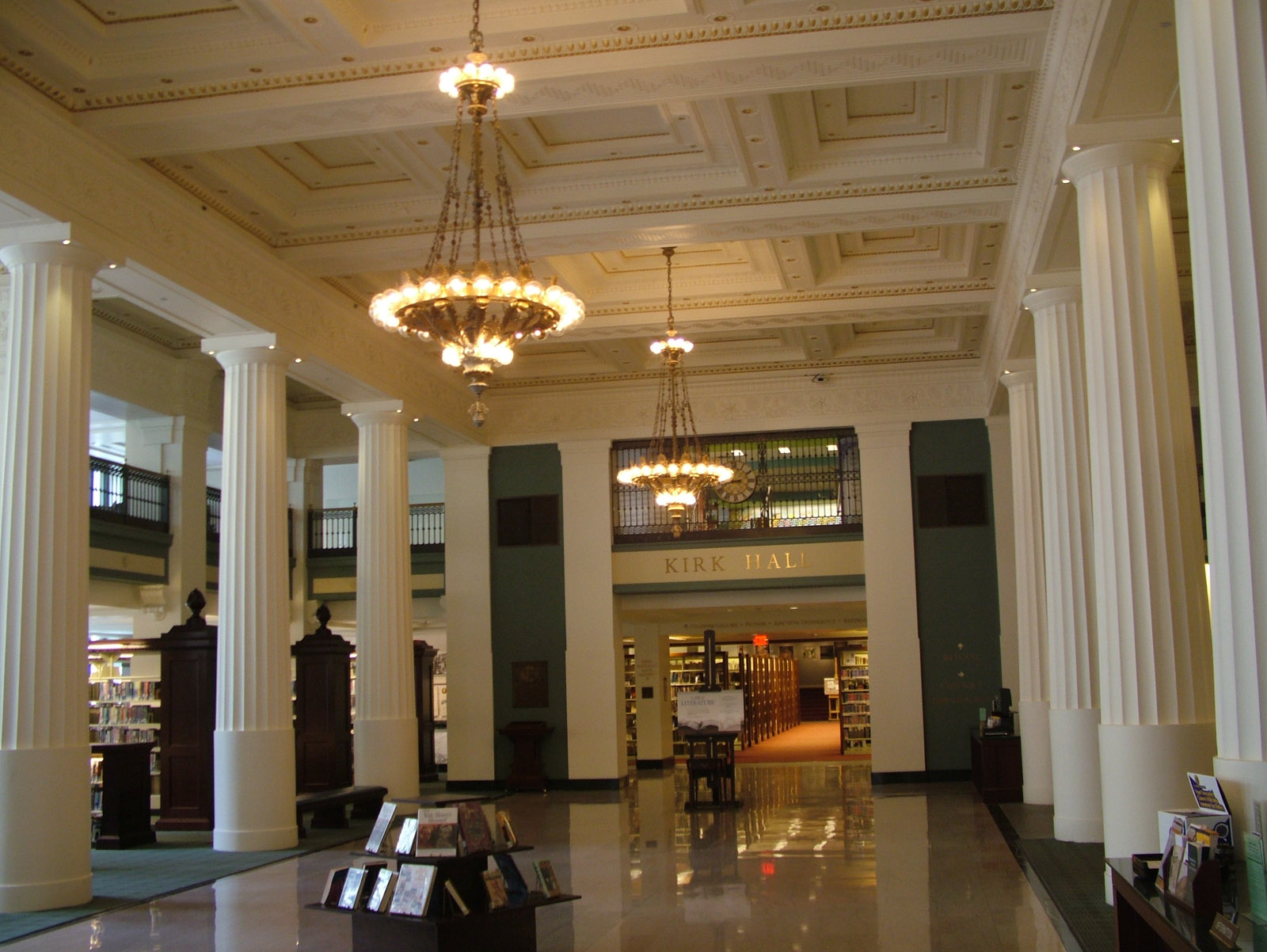 library lobby inS