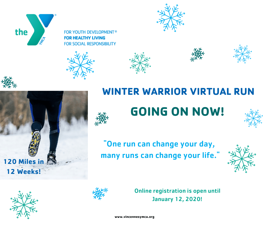 Winter Warrior Virtual Run YMCA of Vincennes