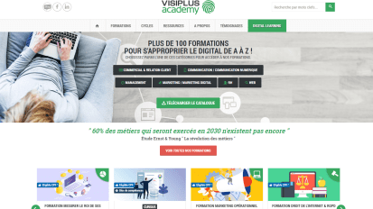 Tutorat pédagogique en Marketing Digital pour Visiplus