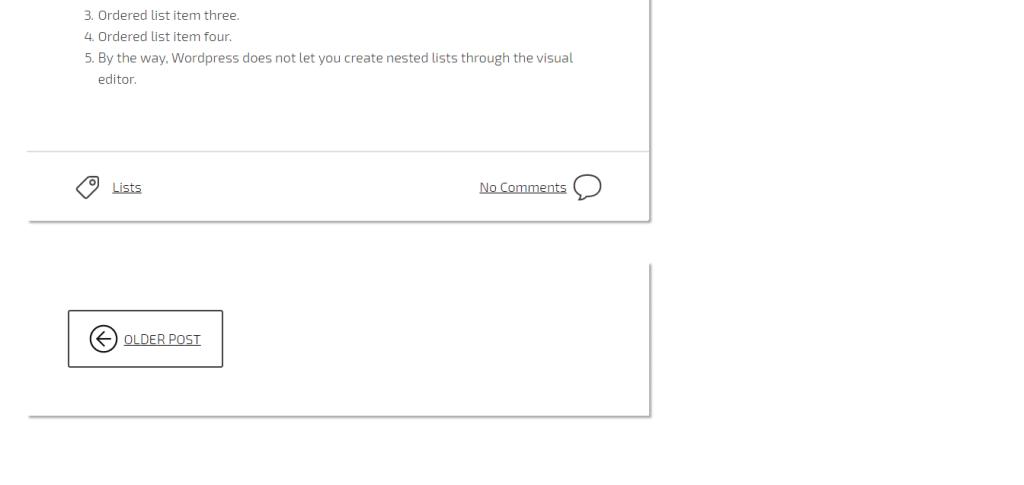 Créer un thème Repo Ready - Screenshot - Post Footer