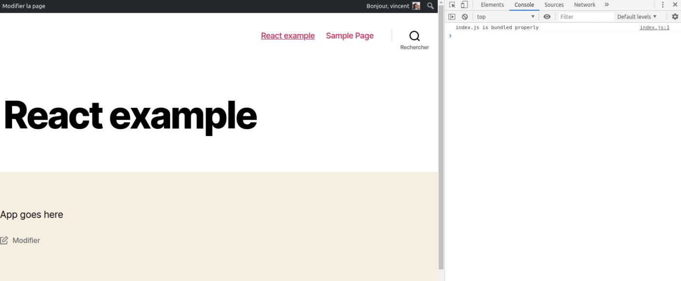 WP-Script est en place.