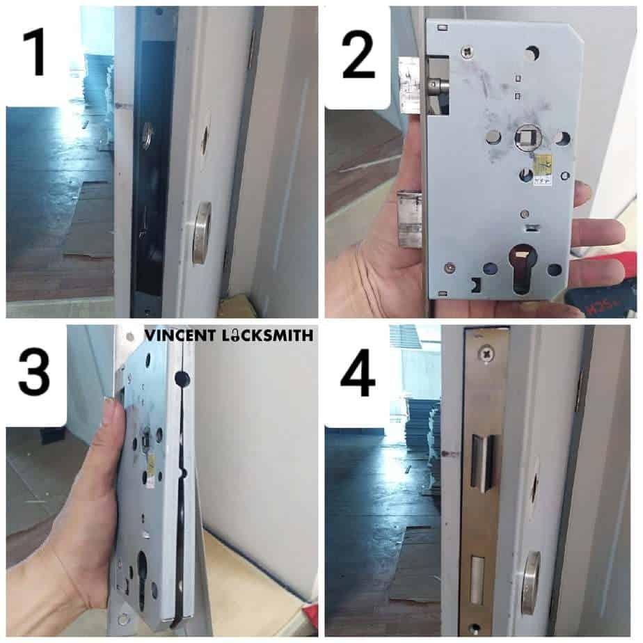 Changing lock body