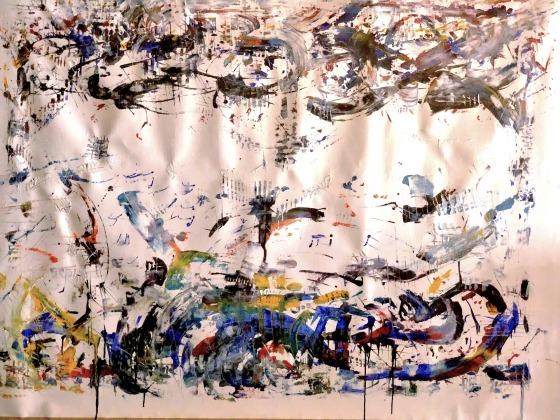 artwork, painting, passionate artist, Vincent Messelier, Waregem
