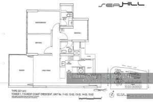 seahill floor plan @ west coast crescent, call 6598531741