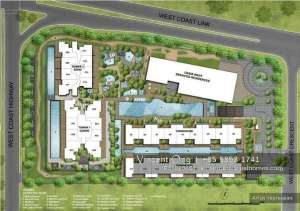 seahill site plan @ west coast crescent, call 6598531741