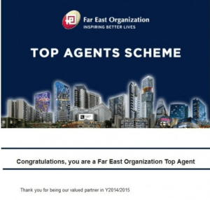 FEO Top Agents Scheme Y2014 / 2015 Vincent Ong 6598531741