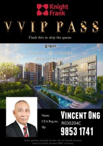 Fourth Avenue Residences VIP Pass 98531741 Vincent Ong