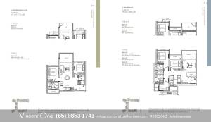 The Woodleigh Residences Floor Plan call 98531741