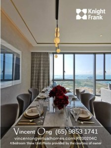 Marina One Residences Tower 23 4BR Show Unit call 6598531741