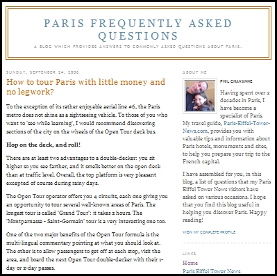 Paris FAQ Blog by Philippe Chavanne and Vincent Ramelli