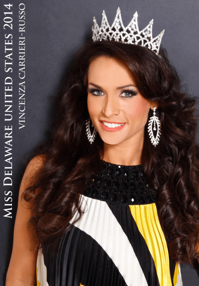 Miss Delaware United States 2014 Vincenza Carrieri-Russo