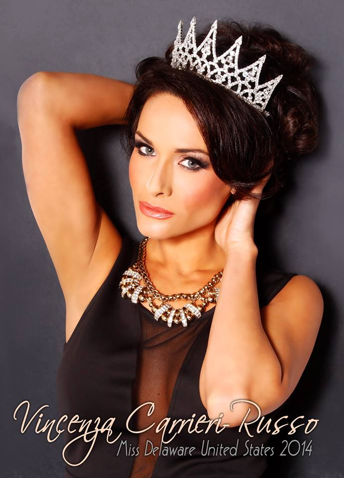 Vincenza Carrieri Russo Miss Delaware United States 2014
