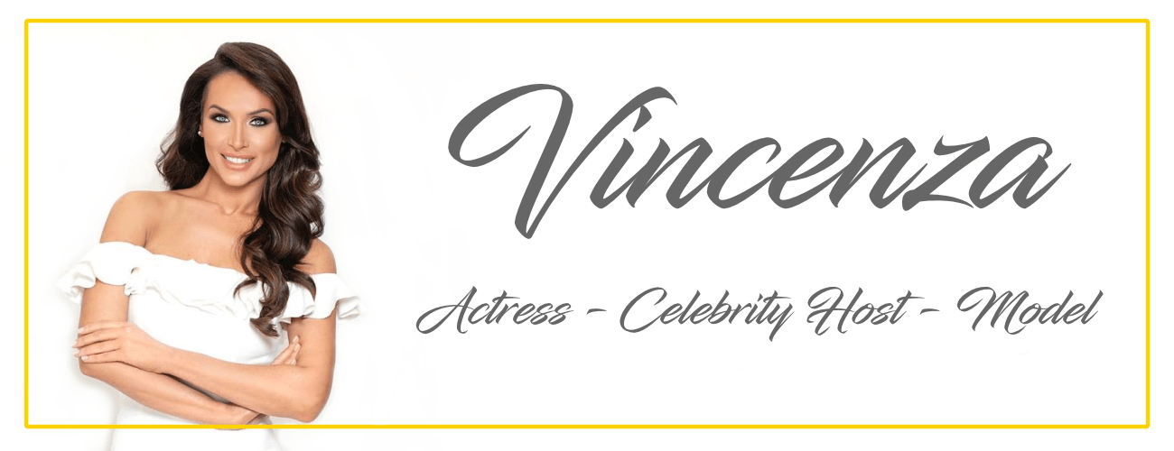 Vincenza Carrieri Russo Celebrity Host and Actress 2019