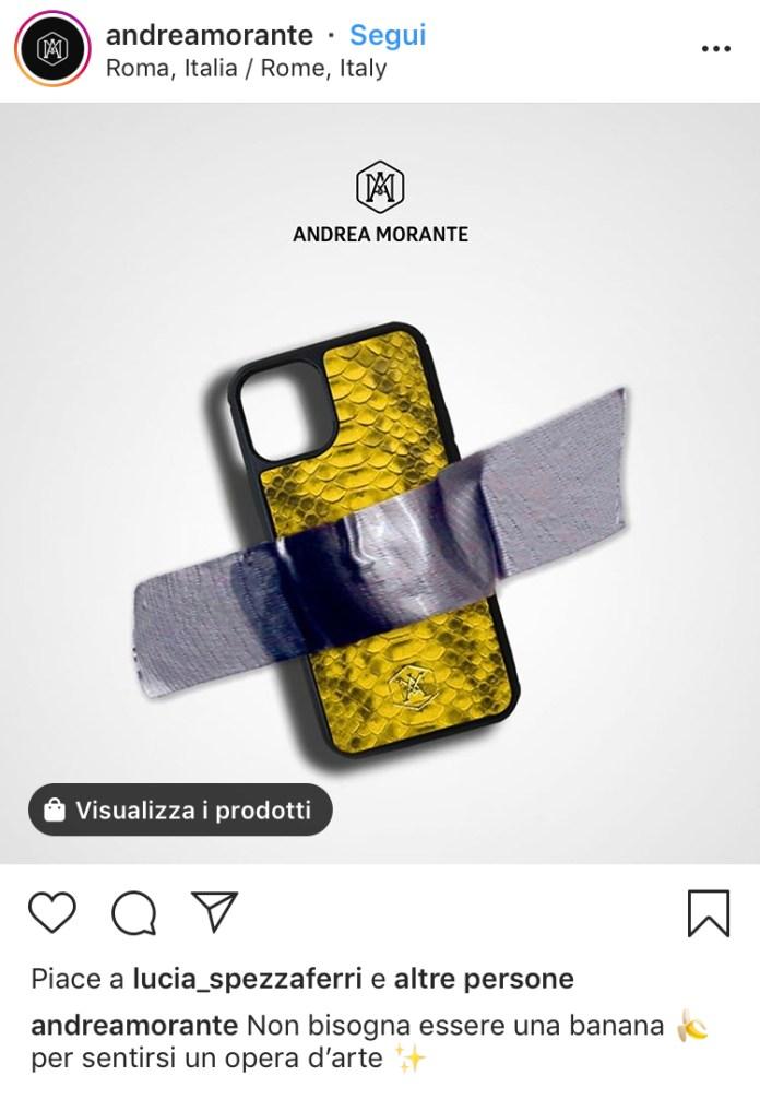 Andrea Morante - Comedian - Banana Cattelan