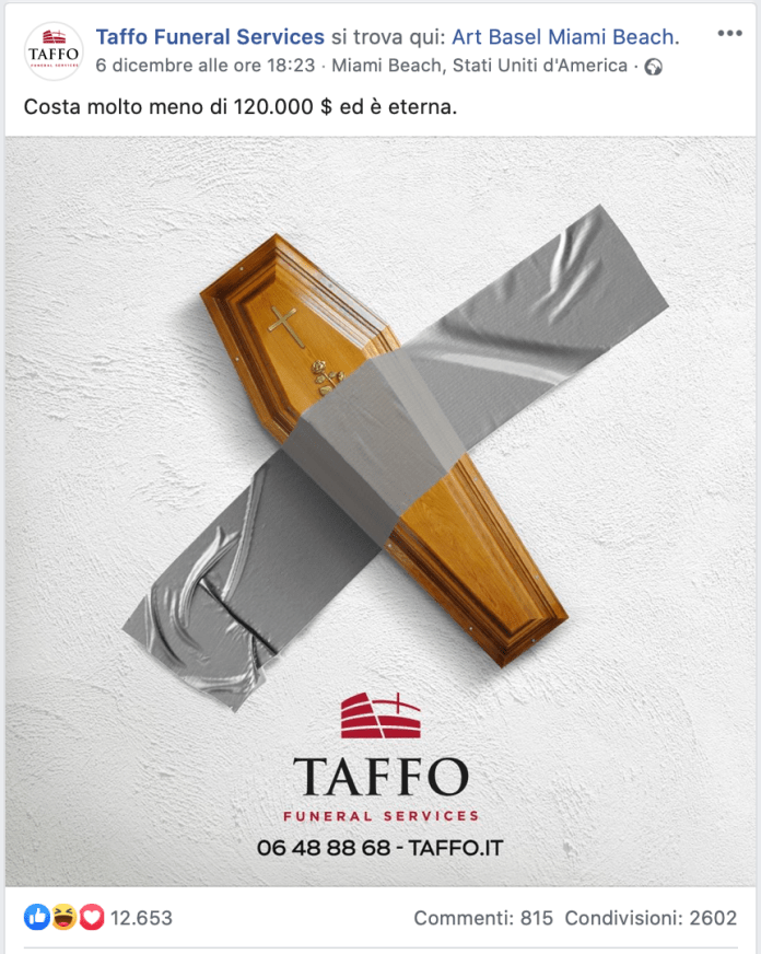 Taffo - Comedian - Banana Cattelan