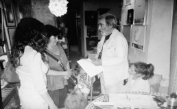 Luigi Giffone Macri Rosa con i nipoti Guerrisi-Paparatti