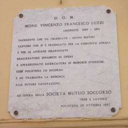 Lapide Luzzi Polistena