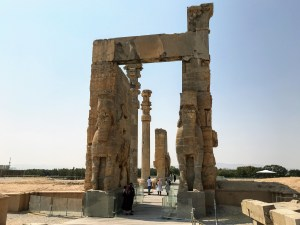 The Gate of All Nations at Persepolis | Scenes from our Iran road trip | VincePerfetto.com