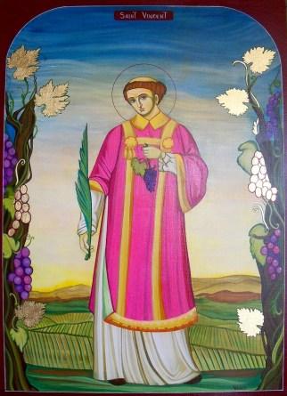 Saint Vincent Saint Patron des vignerons