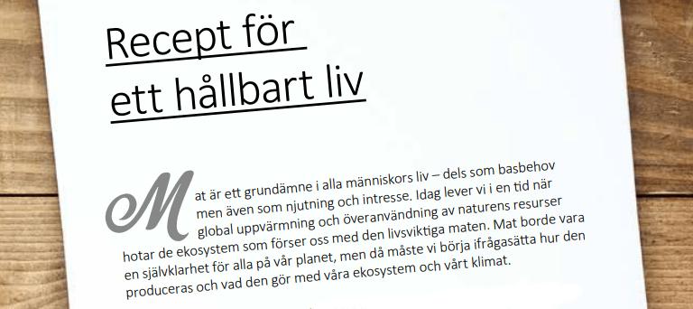 Nätverk och kokbok från Umeå prisas internationellt