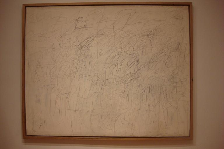 Cy Twombly 1965 Academy MOMA-1