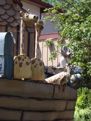 Patrick Amiot's Noah's Ark, Sebastopol, CA on July 7 2009 7