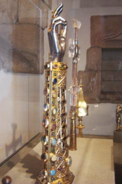 Arm Reliquary of St. Babylas, 1467, Germany. Philadelphia Musuem of Art-1
