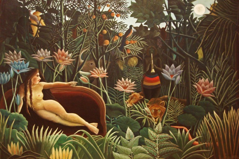 The Dream, 1910 Henri Rousseau MOMA-1