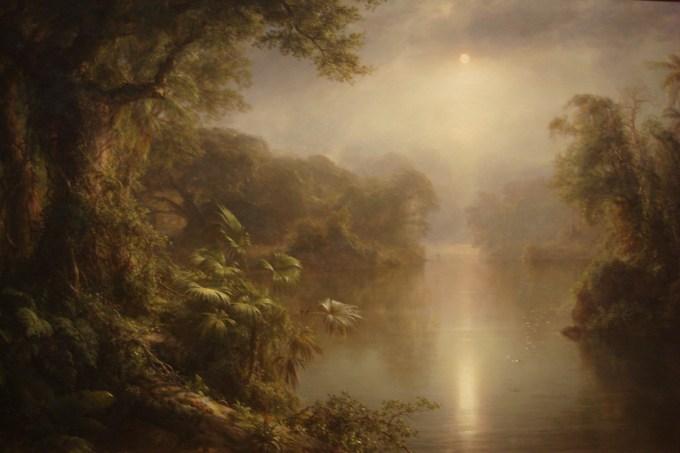 El Rio de Luz, 1877, oil on canvas; Frederic Edwin Church, 1826-1900; National Gallery, DC-1