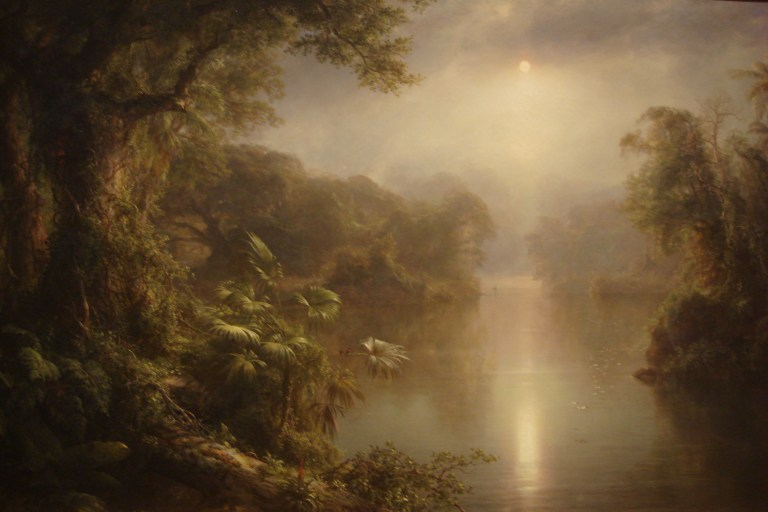 El Rio de Luz, 1877, oil on canvas; Frederic Edwin Church, 1826-1900; National Gallery, DC-1