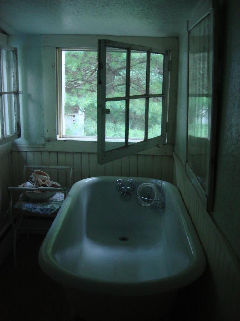 Interior of house, West Shokan, NY-11