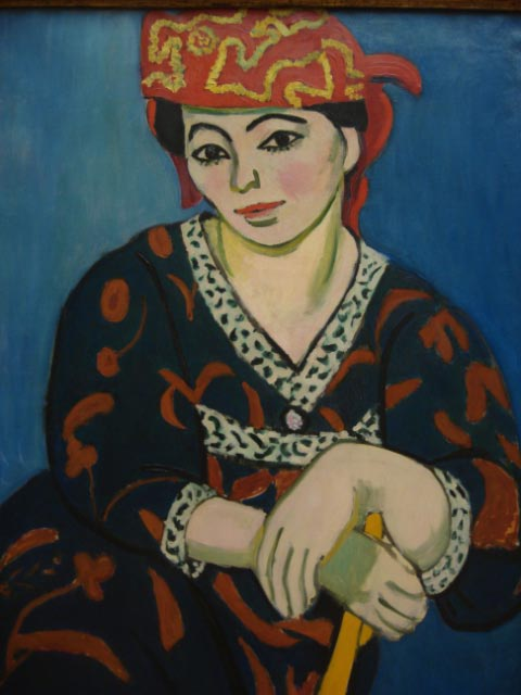 Henri Matisse 1869-1954 Red Madras Headdress 1909 - Copy